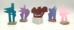 """""""Group H"""" Collection of 5 Small Maquettes by James Smith Pierce"""