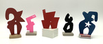 """""""Group I"""" Collection of 5 Small Maquettes by James Smith Pierce"""