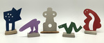 """""""Group K"""" Collection of 5 Small Maquettes by James Smith Pierce"""