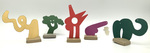 """""""Group Q"""" Collection of 5 Small Maquettes by James Smith Pierce"""