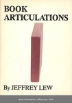 Book Articulations by Jeffrey Lew