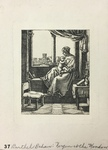 Facsimile Reproduction of Virgin at the Window (Virgin and Child at the Window) by (After) Barthel Beham