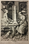 The Organ Player and His Wife by Amand Durand After Israhel van Meckenem