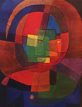 Dynamism of a Head by Paul Klee