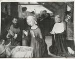 Photograph of Nativity by Maitre de Moulins by Jacques-Ernest Bulloz