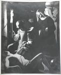 Photograph of St. Sebastien Attended by St. Irene by Georges de La Tour by Jacques-Ernest Bulloz