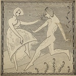 Untitled (Dancing Couple) by E. W. R.