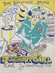 The Discount Store Doughnut Girl by Red Grooms