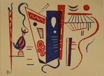 Composition fur XXe Siécle by Wassily Kandinsky