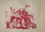 Untitled (War Head) by Gerald Ferstman