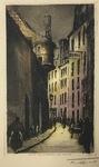 Rue de L'Hotel De Ville by F. Roux