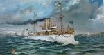 U.S. Battleship Maine by F. Fetherston