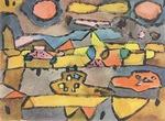 Terre de Citrons (Land of Lemons) Reproduction by Paul Klee