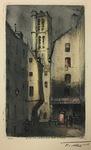 Rue Du Grenier sur L'Eau by F. Roux