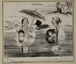 Oh Gustave, qu elle est bonne... by Honoré Daumier