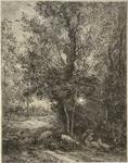 Le Berger et la Bergere by Charles Francois Daubigny