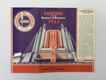 Chicago and the Century of Progress 1933 by Standard Oil Company Publication
