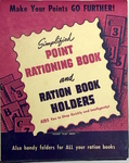 Simplified Point Rationing Book and Ration Book Holders by Ardmore Press Publication