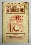 New York World's Fair School Admission Ticket