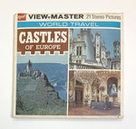 """""""Castles of Europe"""" World Travel Series by 21 Stereo Pictures and GAF Corporation"""