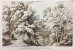 Landscape Illustration to Liber Veritatis, Plate 31 by Richard Earlom After Claude Lorrain