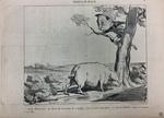 Croquis de Chasse by Honoré Daumier