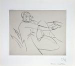 Le Bonnet Fleuri by Henri Matisse