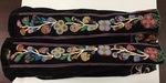 Chippewa/Ojibwa floral pants by Maker Unknown