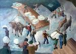Loading Ice Blocks