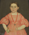 Portrait of Harriet Eaton Ross (1835-1863) at 4 years old