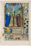 Crucifixion (illumination from book of hours)