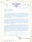 Letter from Minnesota Governor Olson to Governor Langer, 1934