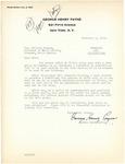 George Payne to Governor Langer regarding Hitler's Germany, 1933