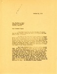 Letter regarding Water Issues from Governor Langer to Nebraska Governor Bryan, 1933