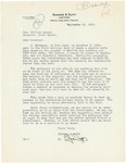Letter to Governor Langer regarding Foreclosure Moratorium, 1933 by Clyde Duffy