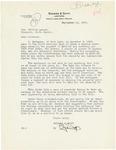 Letter to Governor Langer regarding Foreclosure Moratorium, 1933