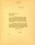 Telegram from Governor Langer to King Haakon VII of Norway, 1933