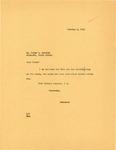 Letter from Governor Langer to Usher Burdick, 10/06/1933