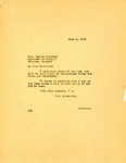 Governor Langer's reply to Georgia Governor Talmadge's Telegram Regarding Legal Representation in Extradition Proceedings, 1933