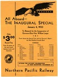 1933 Inaugural Special Train for Governor-Elect Langer