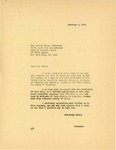 Letter from Governor Langer to the NAACP regarding Lynching, 1934