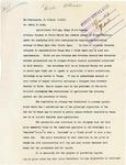 Herbert Hoover to Edwin Ladd on arrest of Powers Elevator Agent, 1917