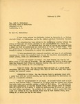 Letter from Governor Langer to Seth Richardson Regarding Bismarck Airport, 1934 by William Langer