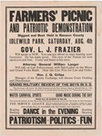 Ransom County Farmers' Picnic and Patriotic Demonstration, 1917