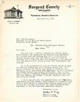Letter from State's Attorney King to Governor Langer regarding Edna Rehak vs International, 1938