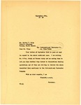 Letter from Governor Langer to State's Attorney King regarding Edna Rehak vs International 1938