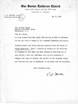 Letter from Pastor T.W. Strieter to Senator Langer regarding Martin Sandberger, Forwarding a 3rd Set of Documents, May 17, 1949