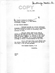 Letter from Senator Langer to Lt. Gen. Clarence Huebner, Commanding General of U.S. Army, Europe, Conveying Additional Materials Attesting to the Innocence of Martin Sandberger, June 24, 1949
