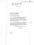 Letter from Senator Langer to T. W. Strieter Acknowledging Strieter's Recent Mailings and Thanking Him, June 1, 1949