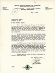 Letter from State Forester Francis E. Cobb to Governor Langer Regarding Arbor Day Observance, 1933
